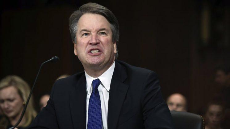 Kavanaugh says he may have been too emotional at Senate hearing