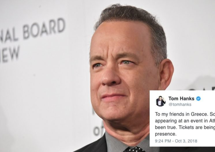 Tom Hanks Is The Latest Celeb To Find Himself In The Middle Of A Bizarre Misunderstanding