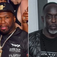 50 Cent feuding with Michael K. Williams on Instagram