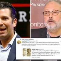 Don Jr shares tweet smearing journalist as a terrorism supporter