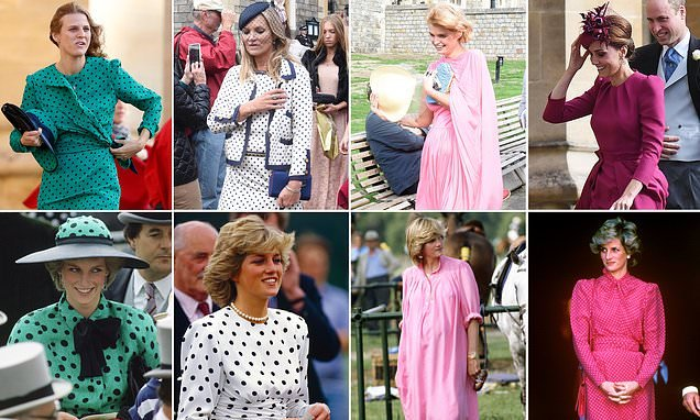 How Princess Diana inspired royal wedding outfits