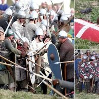 Thousands watch 600 actors fight the Battle of Hastings