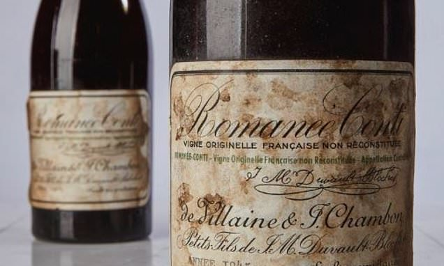 Fine French wine fetches record-smashing $558,000 at auction