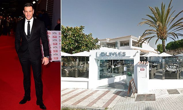 Lorry driver slams TOWIE star's restaurant over 'snobby' dress code