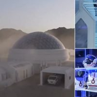 Inside China's first Mars simulation base