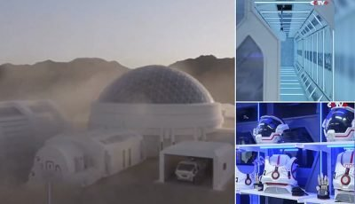 Inside China's first Mars simulation base