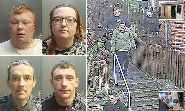 'Zombie' Spice gang are jailed for total of 10 years