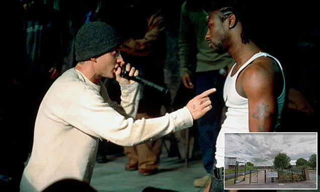 Furious father complains to school after they show Eminem film clip