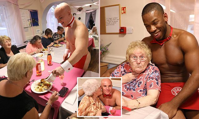 Pensioners hire naked butlers to serve them at Essex care home