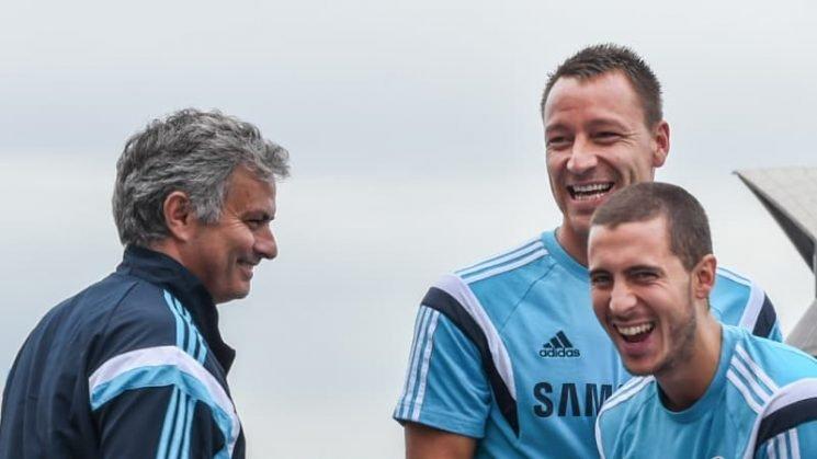 Hazard would like to be reunited with Jose Mourinho