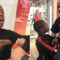 White cop apprehends 12-year-old black rapper Lil C-Note in viral vid