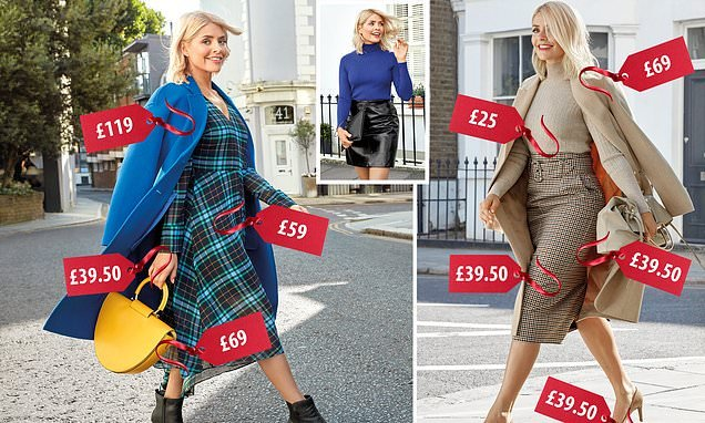 Holly Willoughby's SECOND M&S collection is unveiled