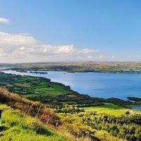 Bracing swims and fire-pit picnics on a lovely Irish lake