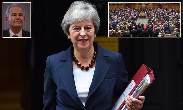 QUENTIN LETTS on PMQs:MPs manspread their thighs to hide the gaps