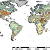 Researchers show where the world will run out of water