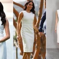 Meghan Markle steps out in $1800 dress for first official engagement