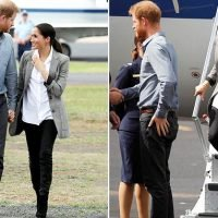 Meghan Markle touches down in Dubbo wearing chic $203 blazer