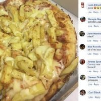 Scottish takeaway unveils a pizza topped with CHEESY CHIPS