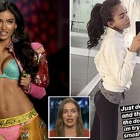 Victoria's Secret model Kelly Gale trains for FOUR HOURS pre-show