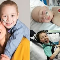 Leukaemia sufferer whose brave smile captured your hearts
