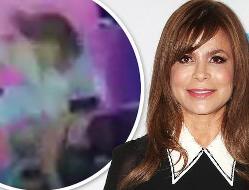 Paula Abdul FALLS off stage face first during Mississippi concert