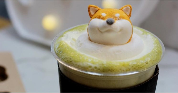 Taiwan's Serving Up Shiba Inu Lattes, and We're Booking Our Flight Right Now
