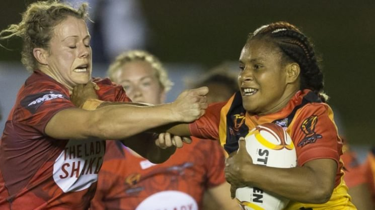 Game changer: Paving the way for  PNG women on and off field