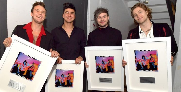 5 Seconds of Summer Celebrate 1 Million Sales for 'Youngblood!'