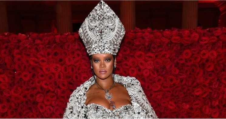 Here's Everything You'll Need to Copy Rihanna in All Her Holy Glory at the Met Gala