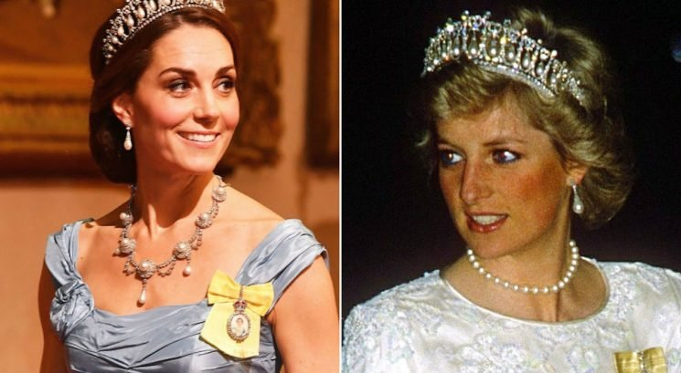 Kate Middleton Wearing Princess Diana's Lover's Knot Tiara Wasn't Her Only Nod To The Late Princess