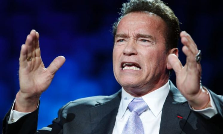 Arnold Schwarzenegger: I stepped over the line on sexual harassment