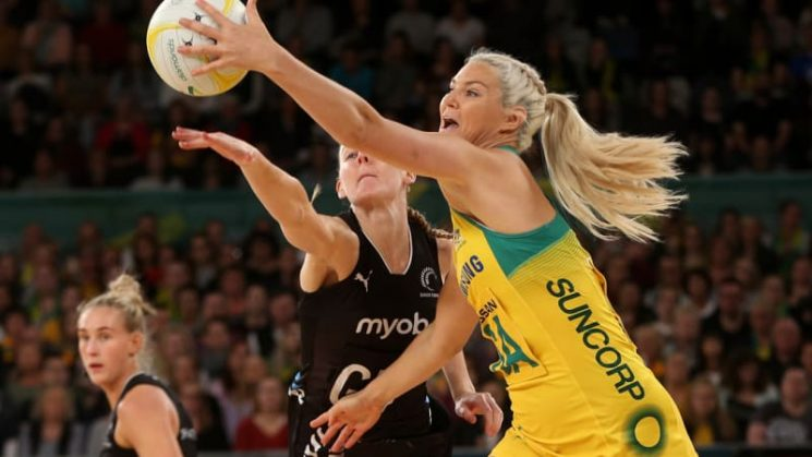 Perfect second half gives Diamonds series lead over Silver Ferns