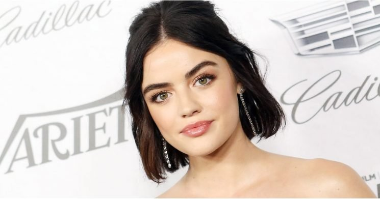 Lucy Hale's New Fall-Approved Hair Color Will Leave You Craving a PSL