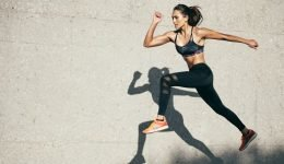 What happens to your body if you don't wear a sport bra when exercising?