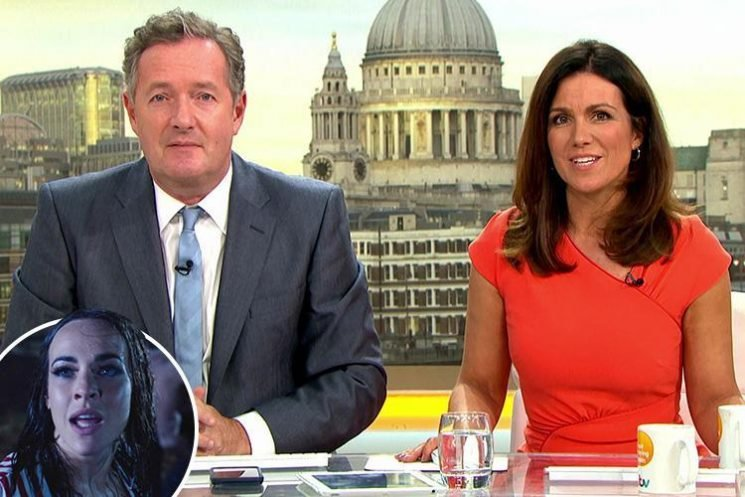 Piers Morgan and Susanna Reid land cameo in Hollyoaks as soap uses BBC, ITV and Channel 4 presenters for deadly 'storm week' coverage