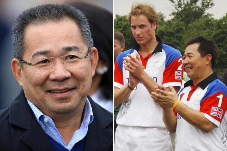Prince William pays tribute to Leicester City owner Vichai Srivaddhanaprabha after he died in a helicopter crash