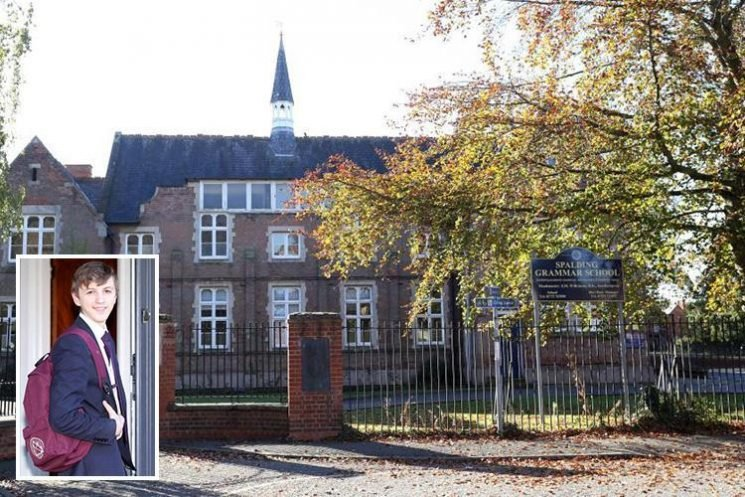 School bans pupils from taking BAGS to lessons blaming 'health and safety' fears