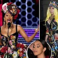 Cardi B defends her public brawl with Nicki Minaj after she claims rapper questioned her parenting skills