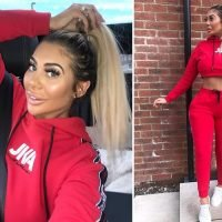 Chloe Ferry's fans beg her to stop cosmetic surgery after showing off tiny waist in new selfie