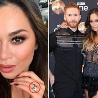 Katya Jones proudly shows off wedding ring after she fails to dance with husband Neil again on Strictly