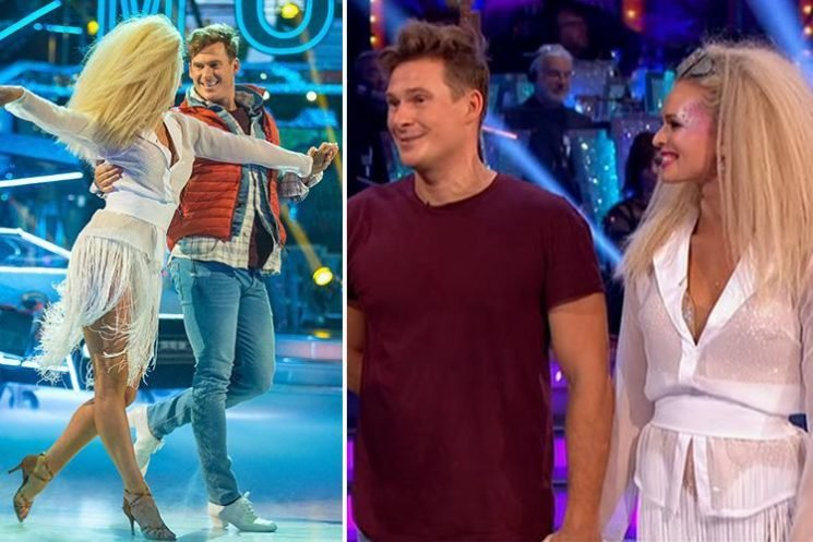 Strictly fans stunned after Lee Ryan becomes the second celeb to be voted off the show as Dr Ranj and Joe Sugg say an emotional goodbye