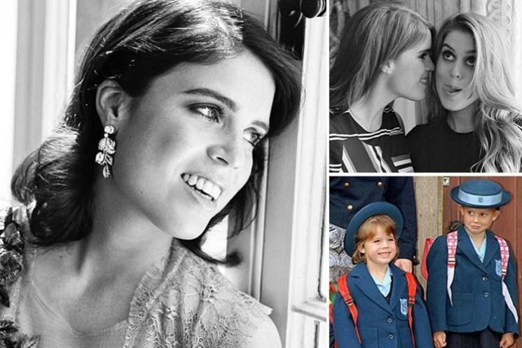 What is Princess Eugenie's Instagram handle and why is she allowed to have social media accounts?