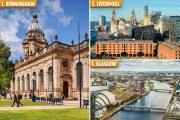 These are the cheapest cities in the UK for an overnight break including a train and a hotel