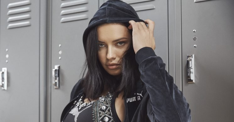 Adriana Lima Has a Sporty New Gig