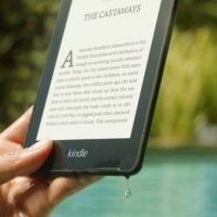 The Newest Offering From Amazon Is A Waterproof Paperwhite Kindle