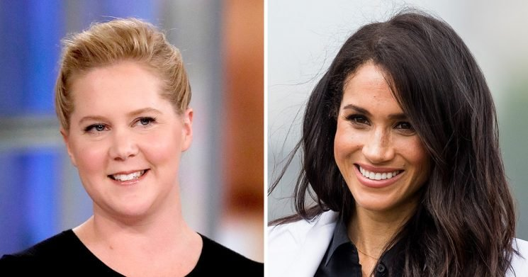 Pregnant Amy Schumer: 'I Look Forward to Competing With' Pregnant Duchess Meghan