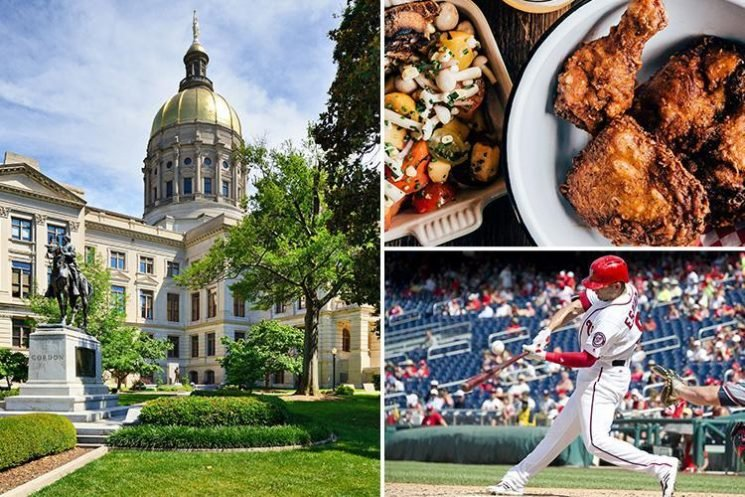 Expect soul food, ball games and a warm welcome in Georgia's State capital of Atlanta
