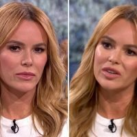 Amanda Holden struggles to hold back tears as she recalls moment son Theo had stopped moving and she was forced to give birth to a stillborn