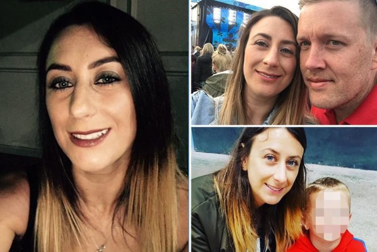 Young mum, 33, dies 'after falling down stairs while drunk after five-hour alcohol binge'