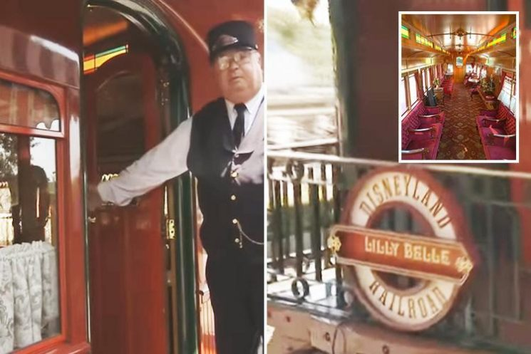 There's a secret train for VIP's at Disneyland – here's how to ride it